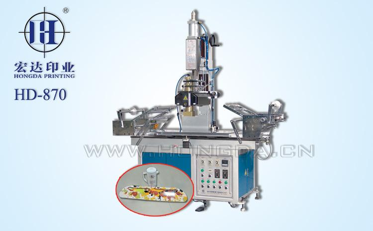 HD870木材大平板热转印机器大图