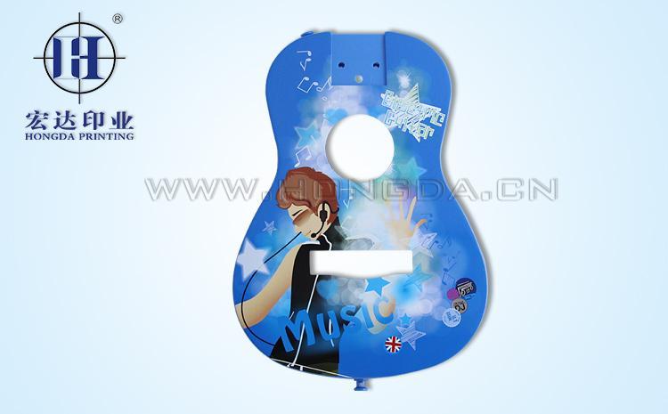 玩具小提琴配件热转印效果图
