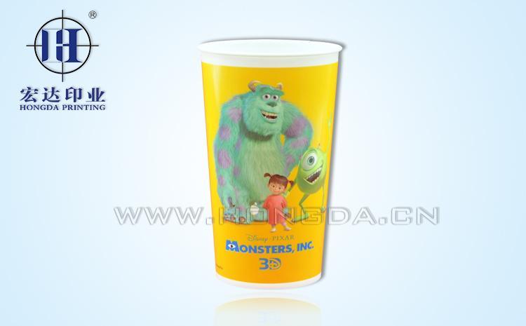 disney杯子热转印效果图