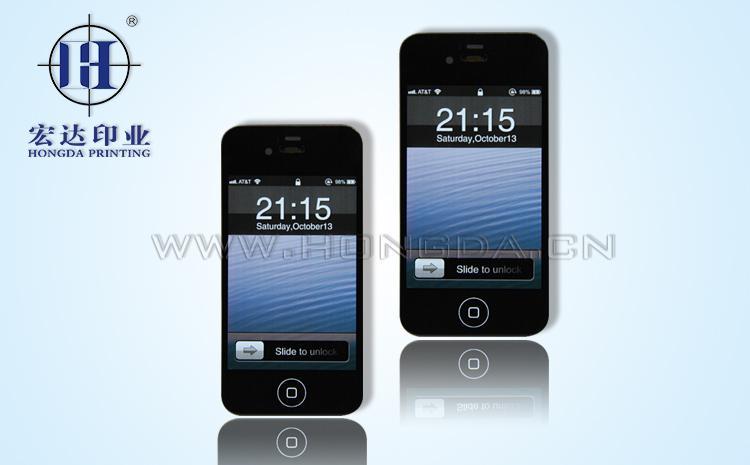 苹果手机壳热转印效果图