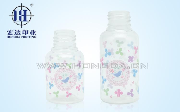 塑料香水瓶热转印效果图