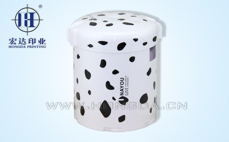 保温饭盒外壳热转印效果图