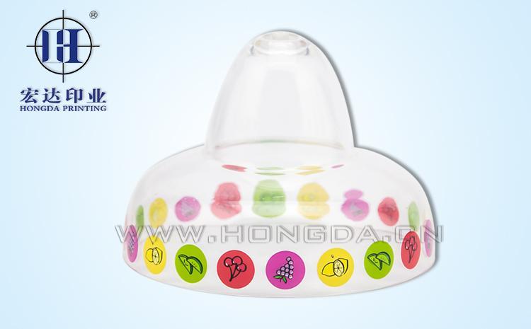 儿童零食罐盖热转印效果图