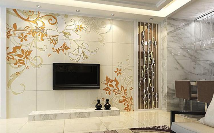 瓷砖背景墙转印图案