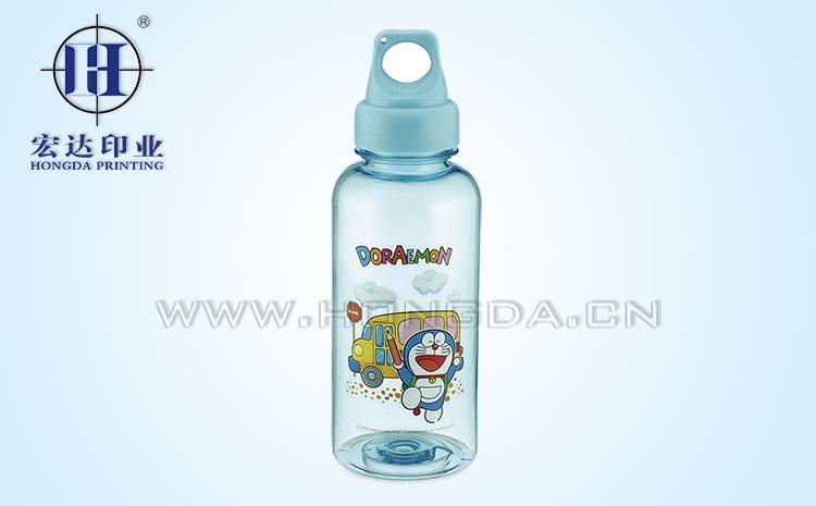 塑料奶瓶热转印花膜效果图