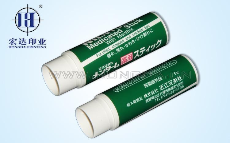 塑料热转印膜烫印温度作用示例图