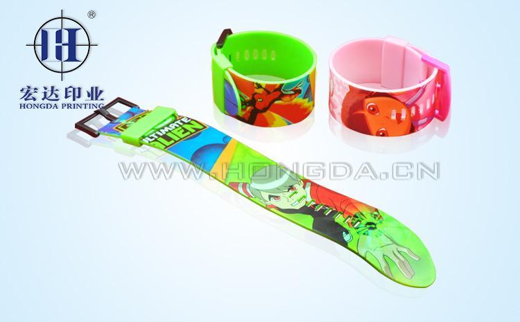 饰品PVC手表带热转印效果图