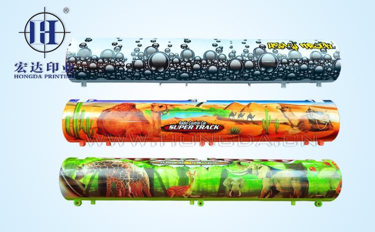 玩具油罐车外壳热转印效果图