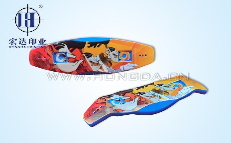 玩具手指滑板热转印效果图