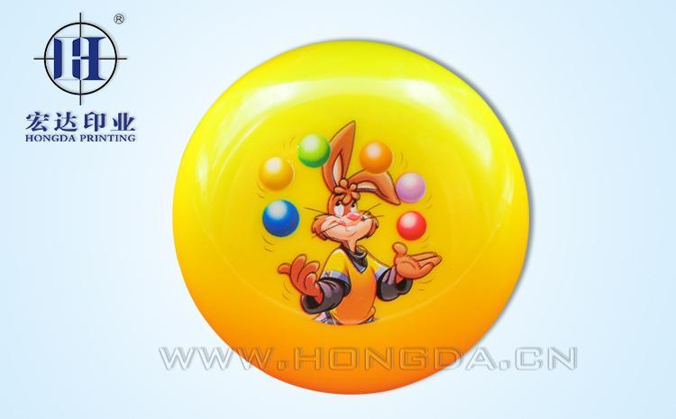 兔子图案溜溜球热转印效果图