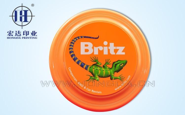 韩国Britz玩具飞盘热转印效果图