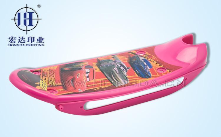 玩具滑板opp模内贴标效果图