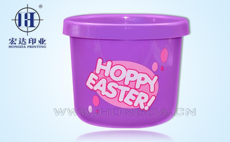 紫色水桶热转印效果图
