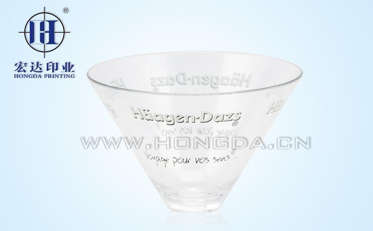 透明果汁杯热转印效果图