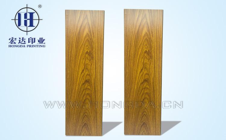 木板木纹热转印花膜