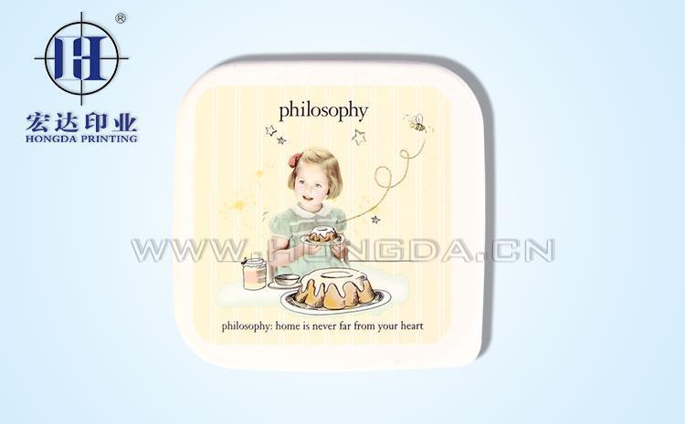 宝宝餐盖热转印效果图