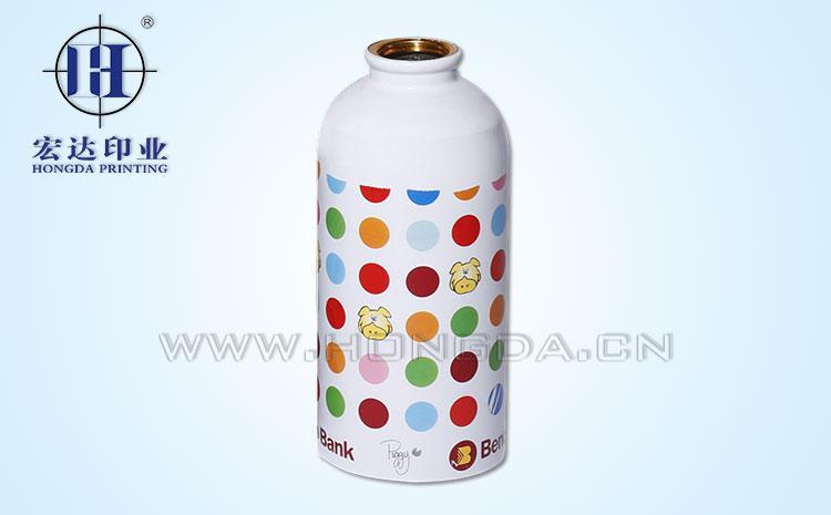 色彩斑斓保温杯金属热转印效果图