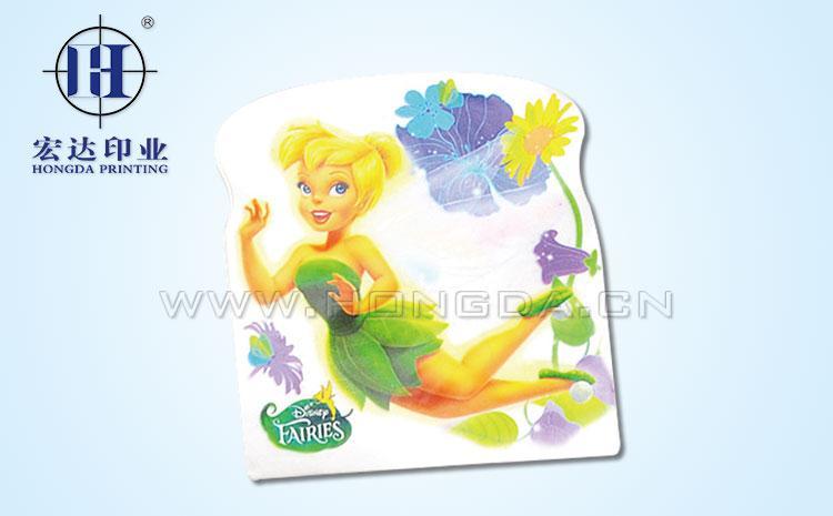 迪士尼梦幻仙子玩具配件热转印效果图