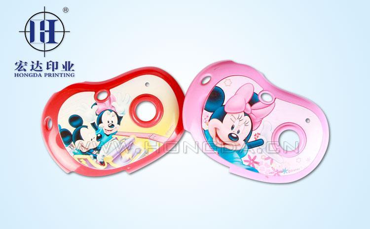 迪士尼米奇米妮玩具配件热转印效果图