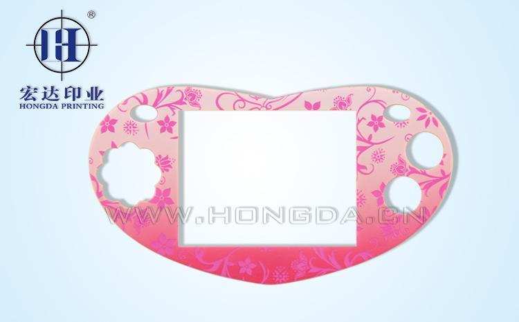 女生专用游戏机外壳热转印效果图