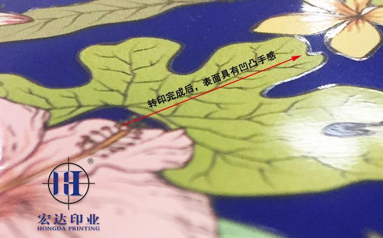 高清热转印花膜效果图